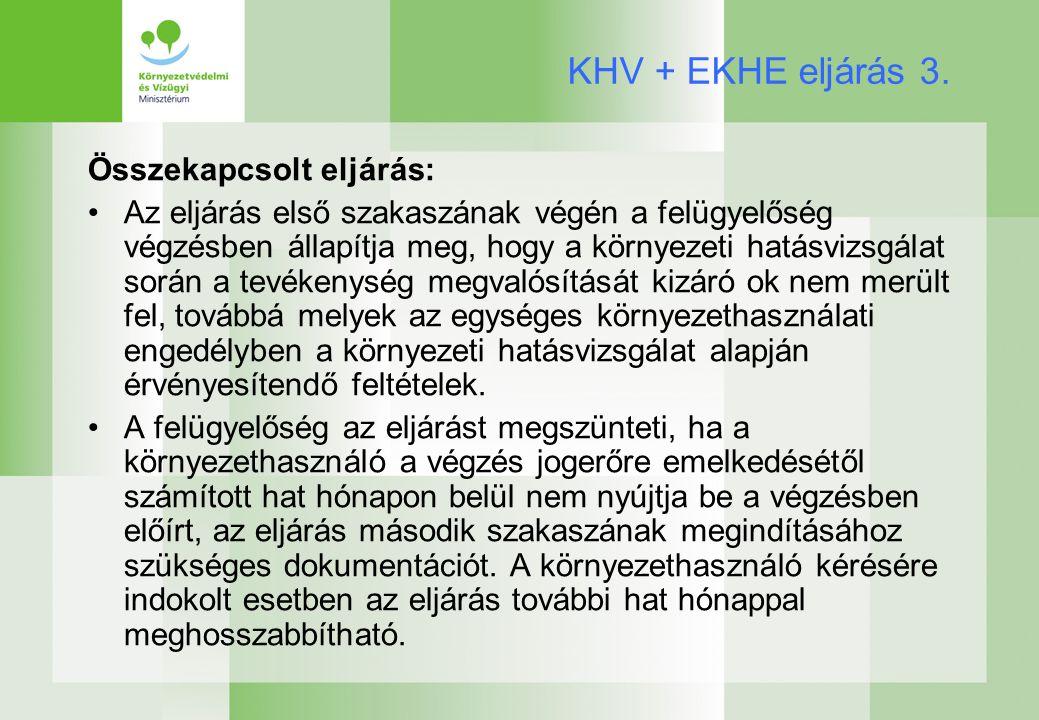 KHV + EKHE eljárás 3.