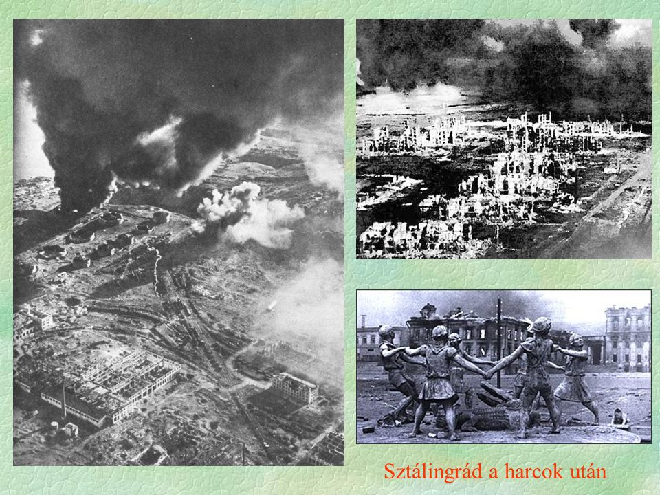 Sztálingrád a harcok után