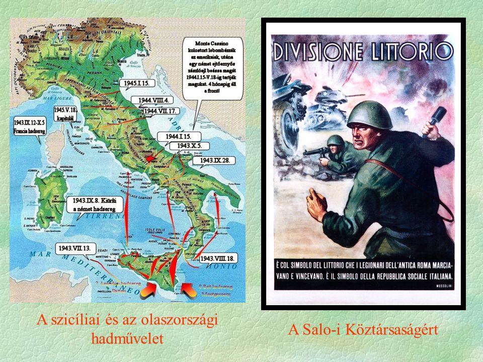 A szicíliai és az olaszországi hadművelet A Salo-i Köztársaságért