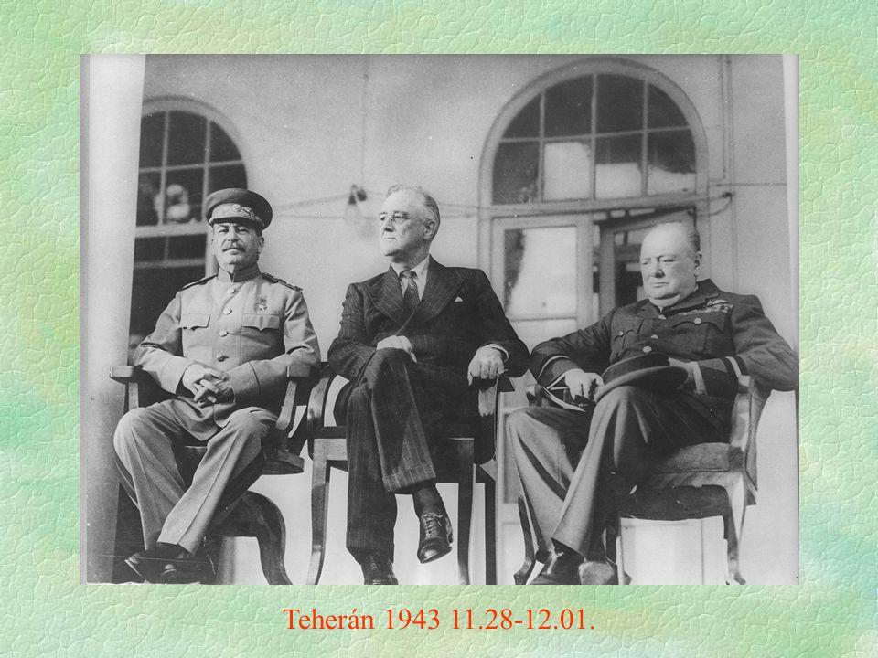 Teherán 1943 11.28-12.01.
