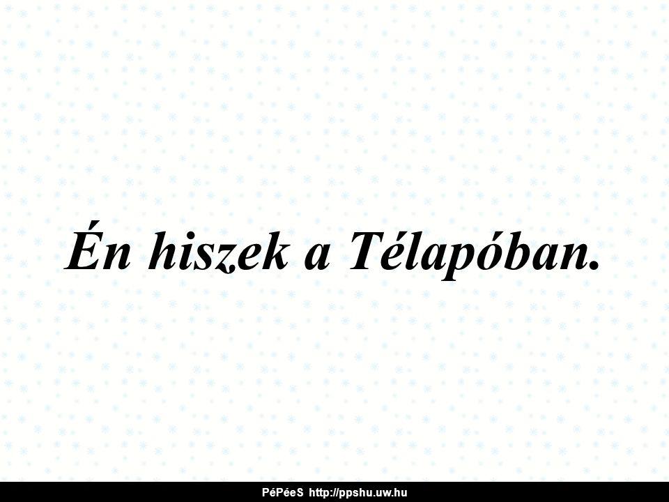 Én hiszek a Télapóban. PéPéeS http://ppshu.uw.hu