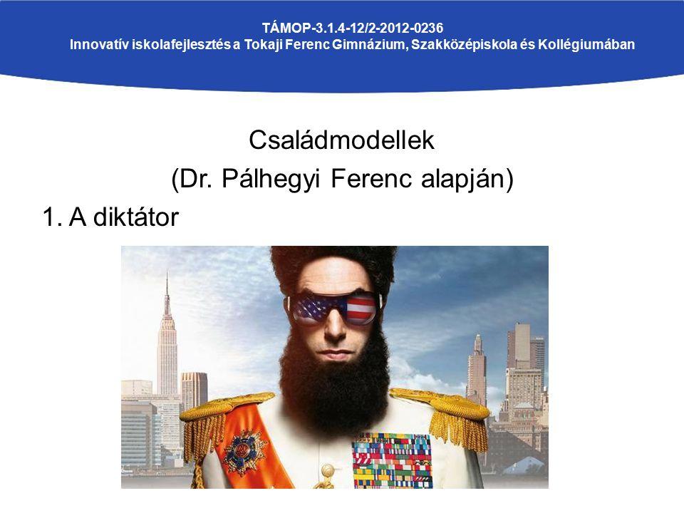 Családmodellek (Dr. Pálhegyi Ferenc alapján) 1.