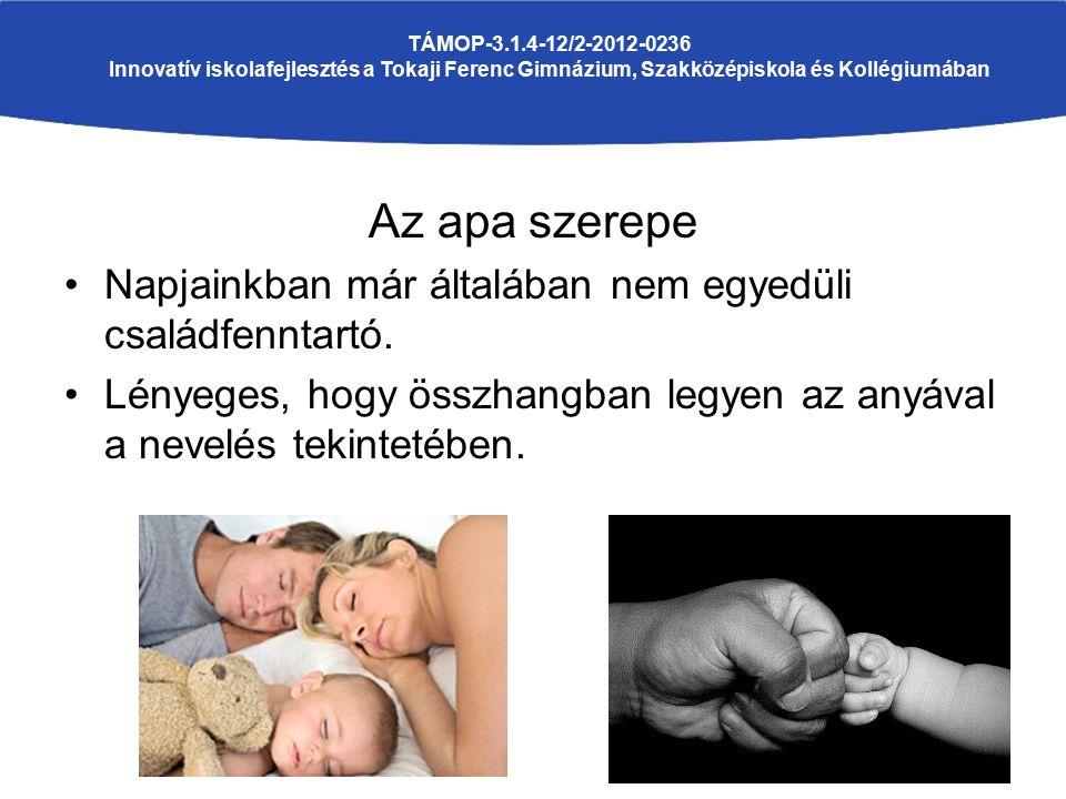 Fontos, hogy részt vegyen a gyermeknevelésben.