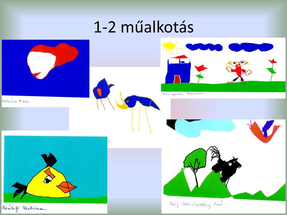 1-2 műalkotás