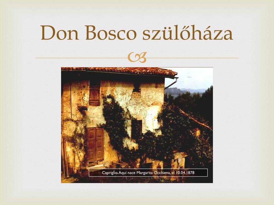  Don Bosco szülőháza