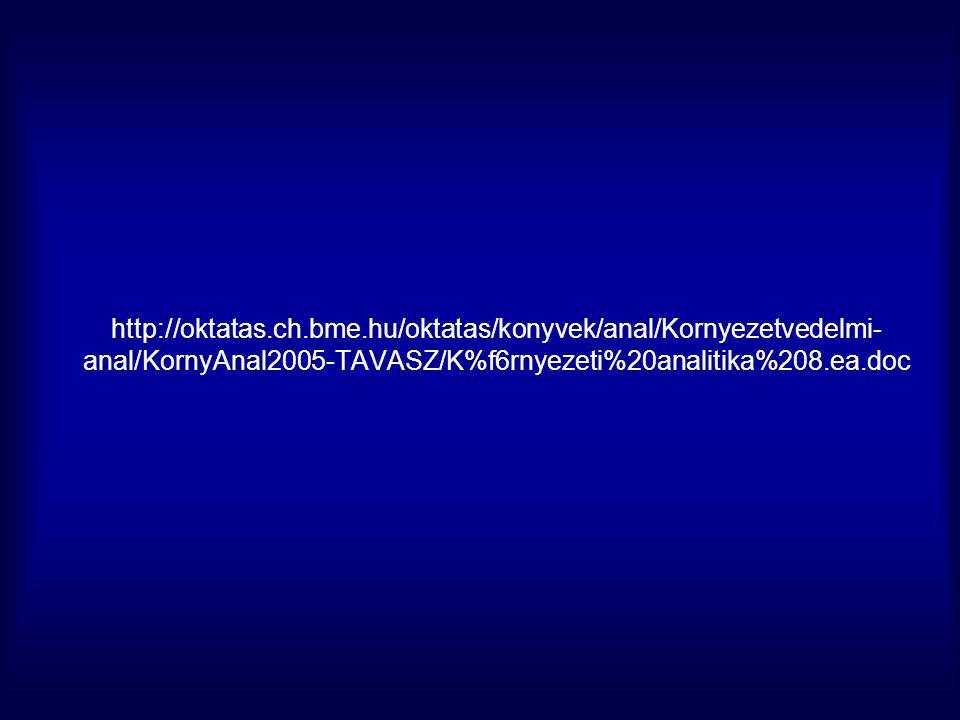 http://oktatas.ch.bme.hu/oktatas/konyvek/anal/Kornyezetvedelmi- anal/KornyAnal2005-TAVASZ/K%f6rnyezeti%20analitika%208.ea.doc