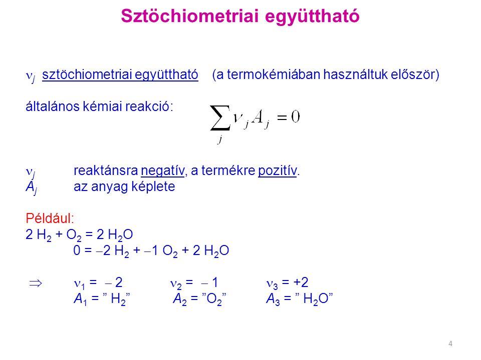 Egyensúlyi összefüggések alkalmazása Egyensúlyi folyamatok: pl.: észterképződés Gyenge savak, bázisok disszociációja Víz ionszorzata, pH Oldhatósági szorzat – szennyezők eltávolítása Komplexképződési egyensúlyok