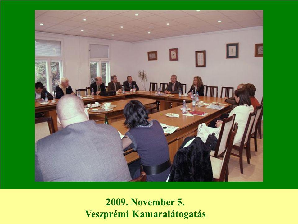 2009. November 5. Veszprémi Kamaralátogatás