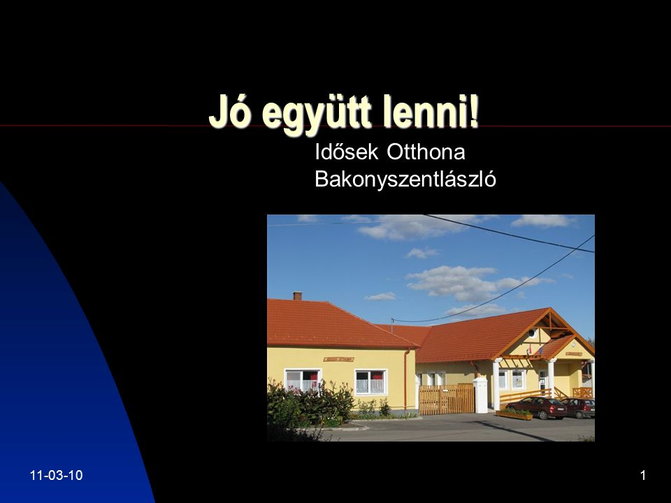 11-03-102 Program célja Az idős és fiatal generáció kölcsönös megismerésének segítése.