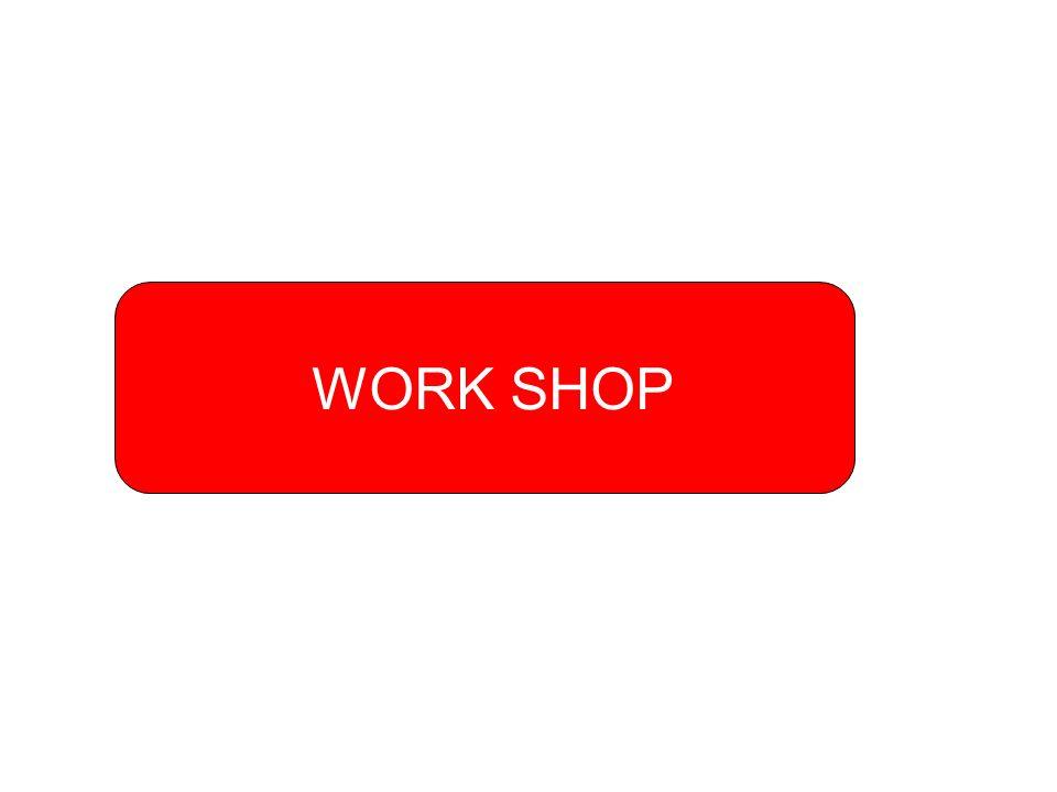 WORKSHOP CÉLJA: a működési támogatások eredmény- mérési lehetőségeinek meghatározása 1.Határozzuk meg, hogy milyen mutatókkal lehet mérni a pályázó jövőbeni működésének eredményét.