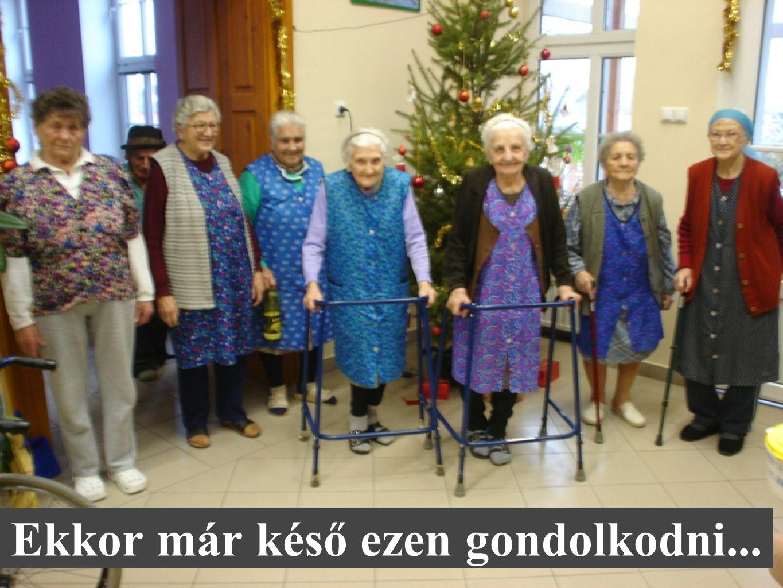 A hölgyek és a méltóságteljes időskor Kockáztatni vagy felkészülni.