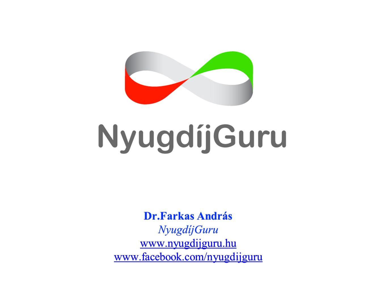 Dr.Farkas András NyugdíjGuru www.nyugdijguru.hu www.facebook.com/nyugdijguru