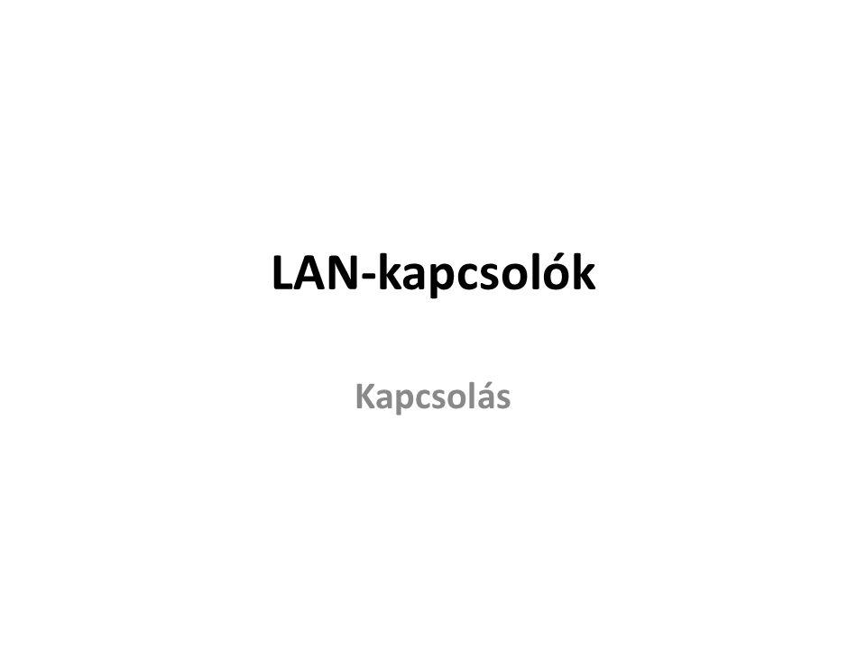 LAN-kapcsolók Kapcsolás