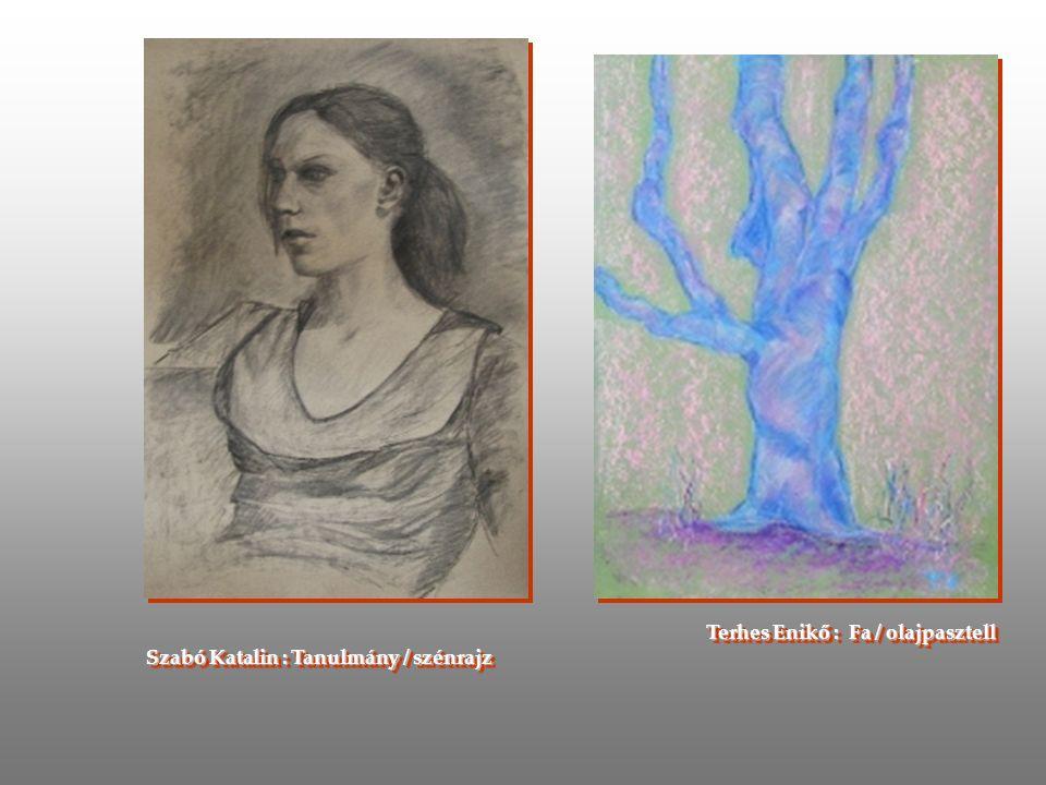 Stifánné Alexi Mária : olajpasztell és akvarell tanulmány Stifánné Alexi Mária : olajpasztell és akvarell tanulmány