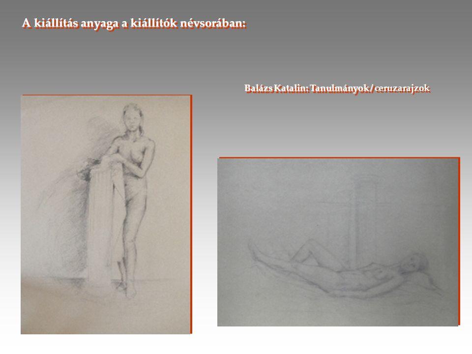 Törteli Lilla : Groteszkek / akvarell