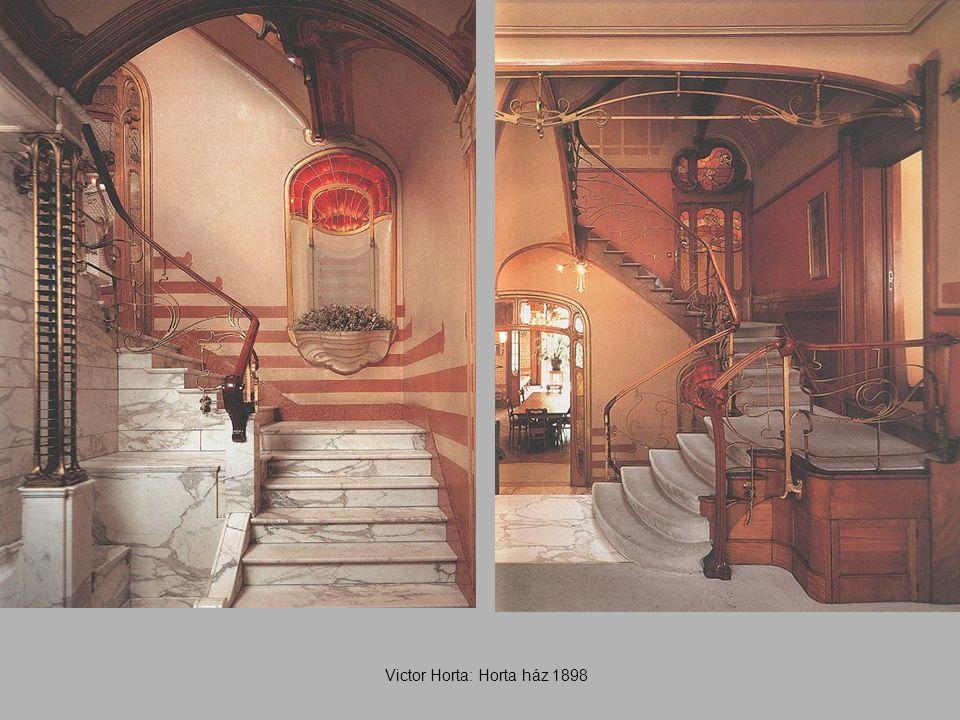 Victor Horta: Horta ház 1898