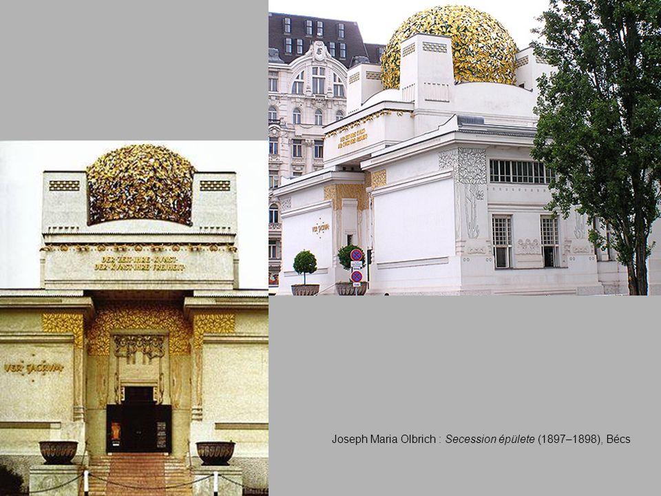 Joseph Maria Olbrich : Secession épülete (1897–1898), Bécs