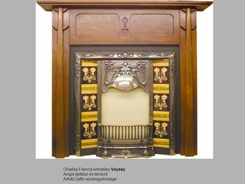 Charles Francis Annesley Voysey Angol építész és tervező Arts&Crafts vezéregyénisége