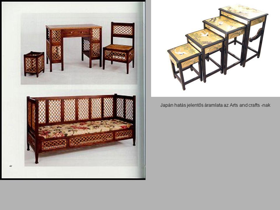 Japán hatás jelentős áramlata az Arts and crafts -nak