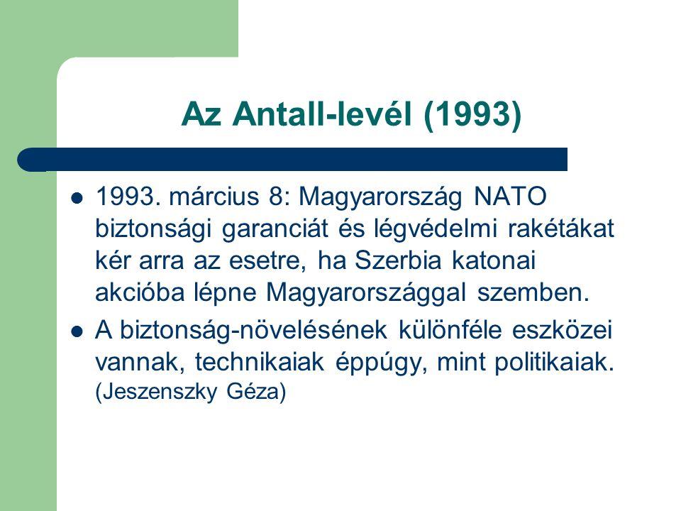 Az Antall-levél (1993) 1993.