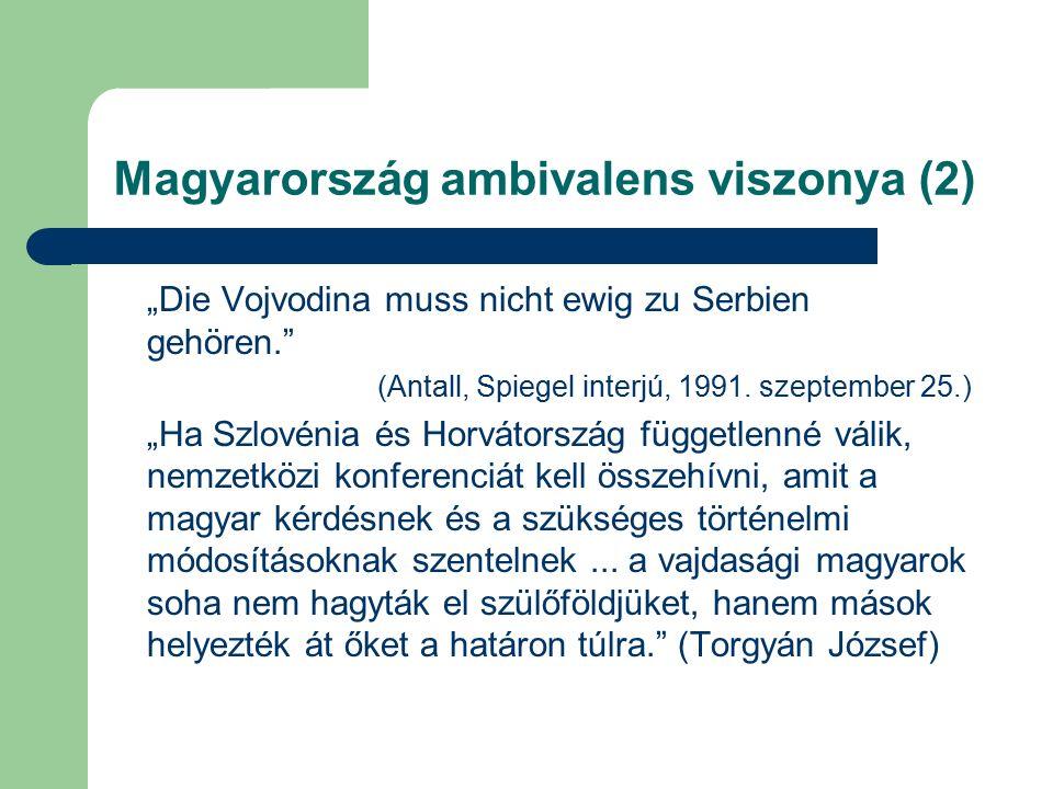 Jelcin-látogatás (2) Egyetértés kisebbségpolitikai kérdésekben.