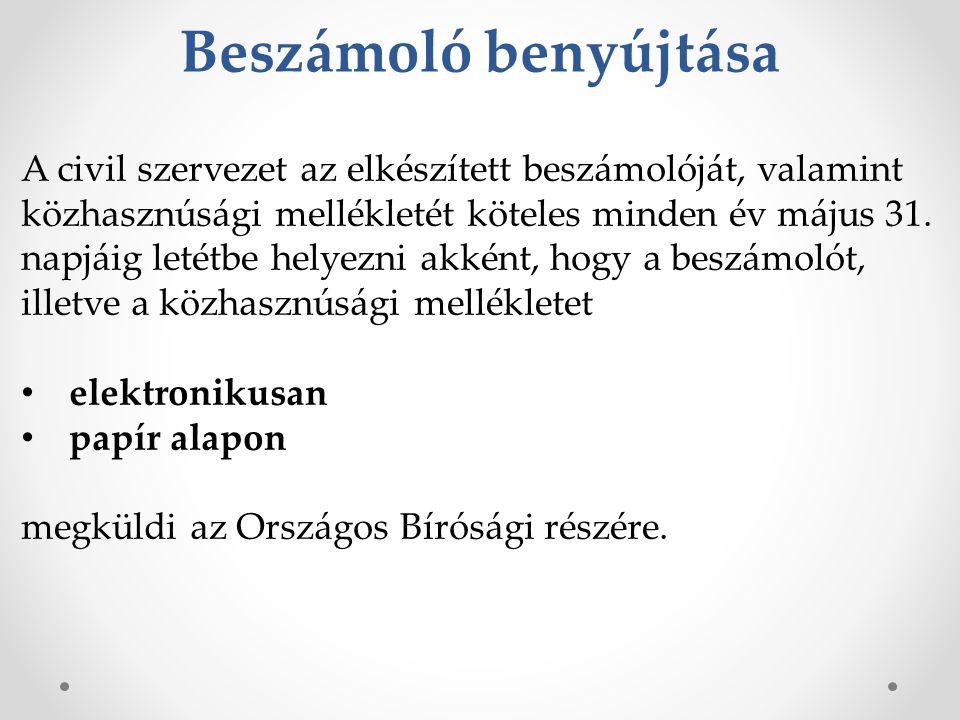 23 Vonatkozó Jogszabályok Az egyesülési jogról, a közhasznú jogállásról, valamint a civil szervezetek működéséről és támogatásáról szóló 2011.