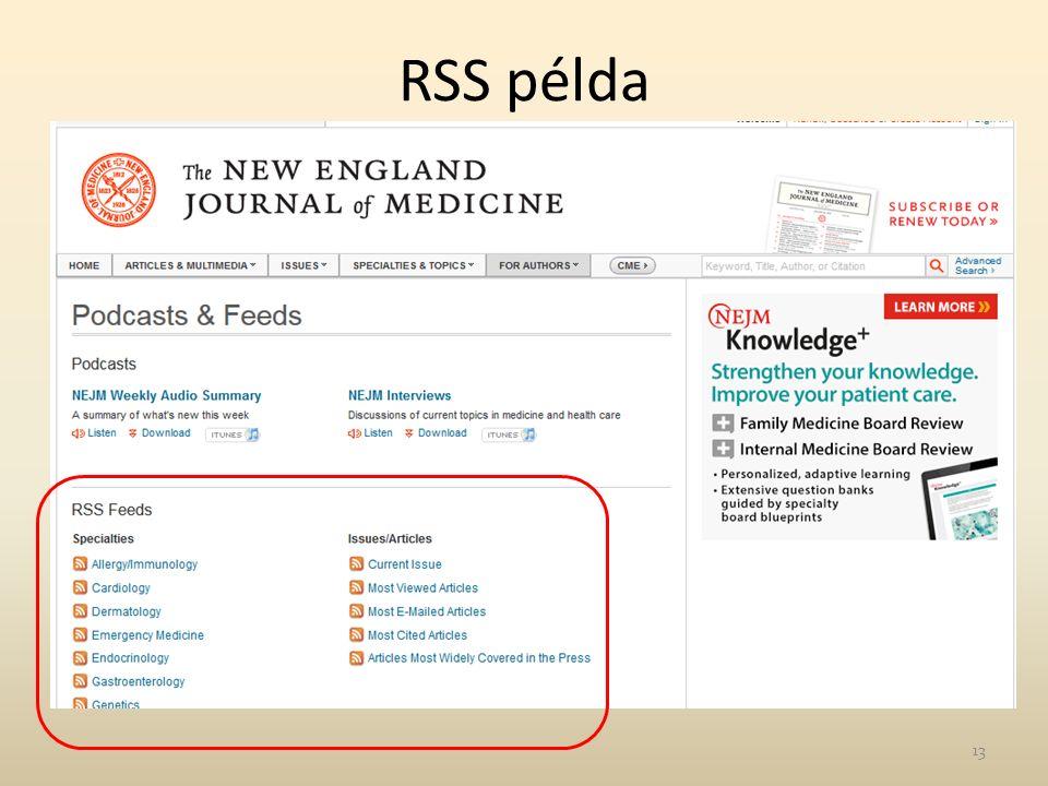 RSS példa 13