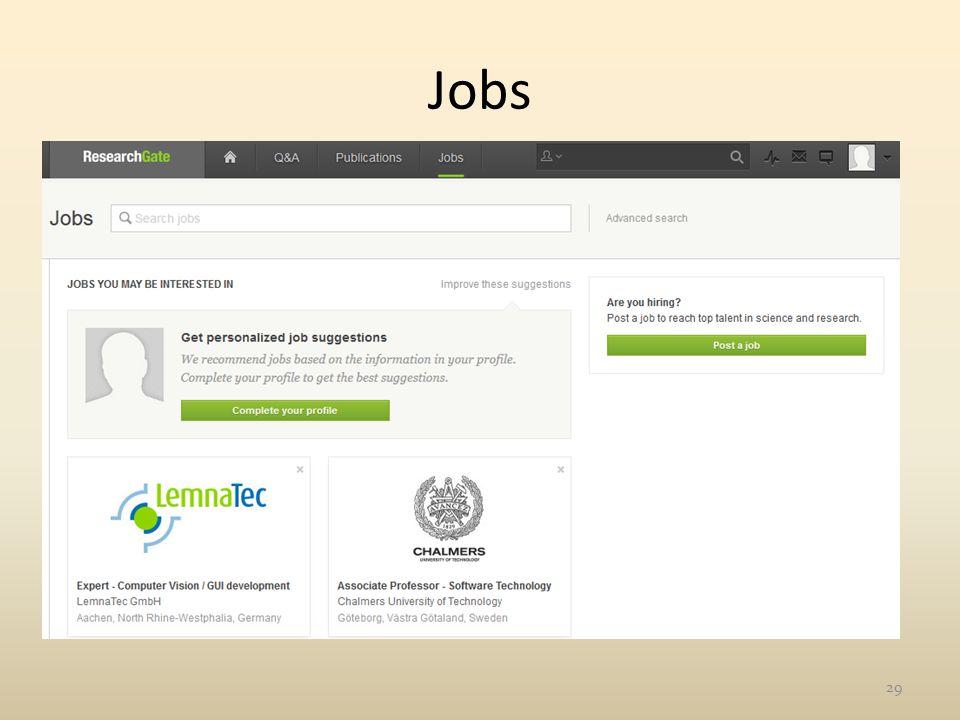 Jobs 29