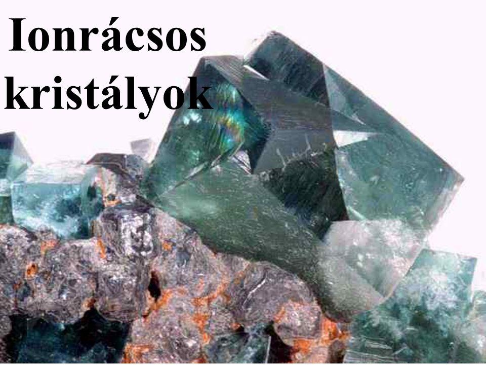 Ionrácsos kristályok