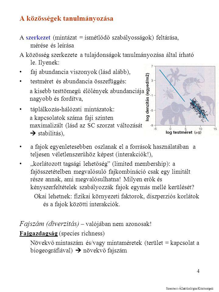 3 Társulás (association) - magyar szakterületen Azonos tér-időben létező -- a vizsgálódás szempontjából szabadon választott -- élőlénycsoport, amelyen