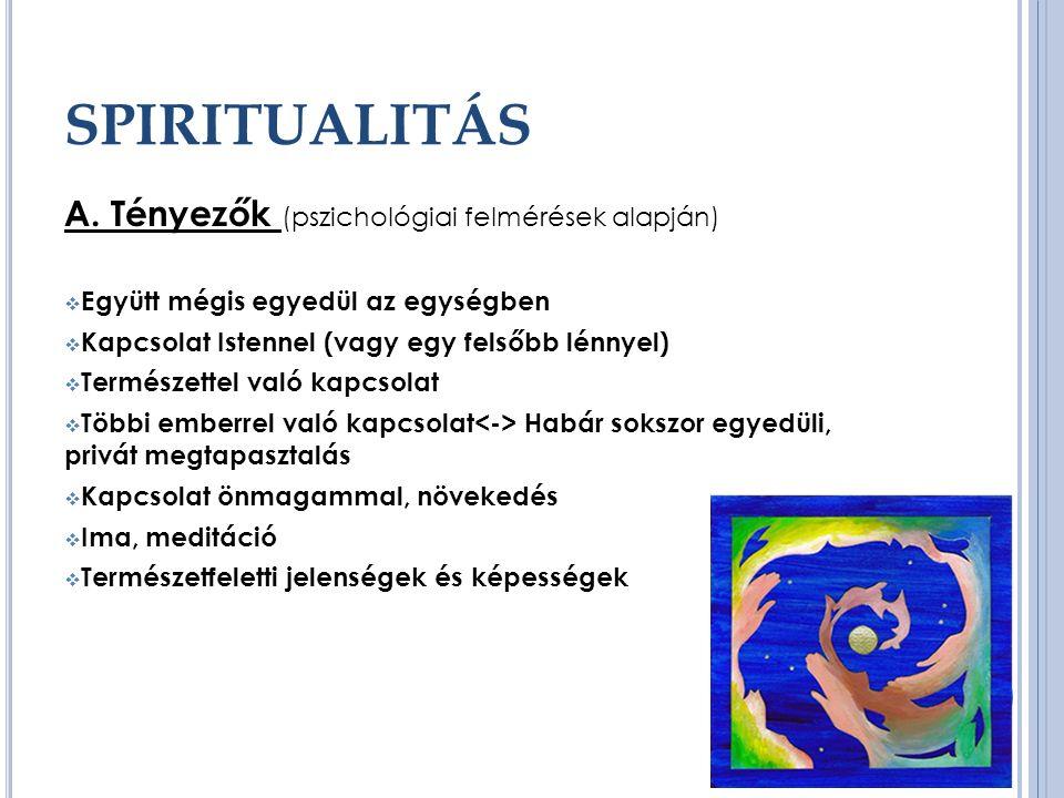 SPIRITUALITÁS A.