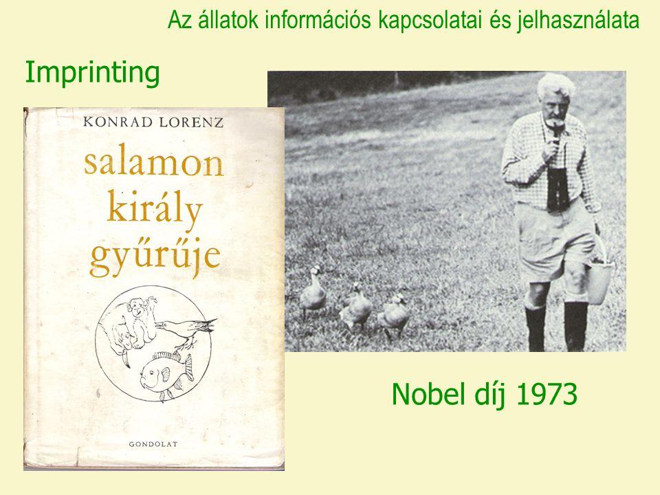 Imprinting Nobel díj 1973