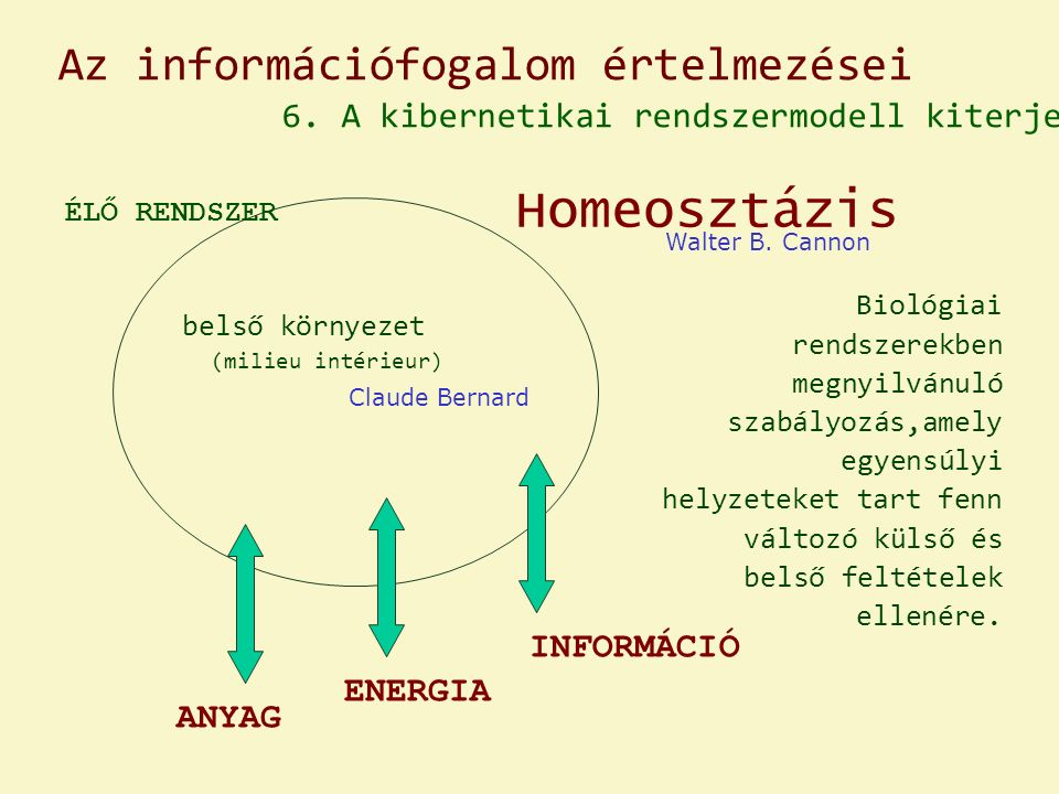 Az információfogalom értelmezései 6.