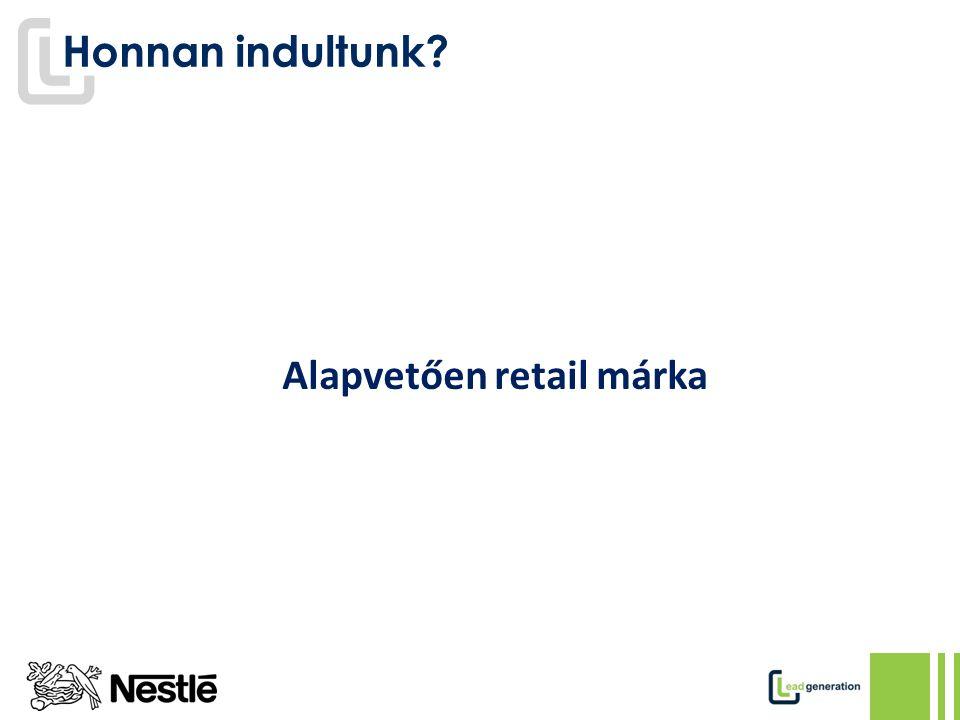 Alapvetően retail márka