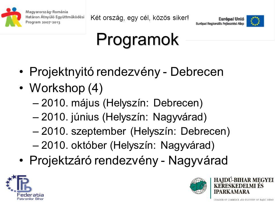 Projektnyitó rendezvény - Debrecen Workshop (4) –2010.