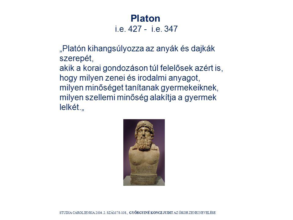 Platon i.e. 427 - i.e.