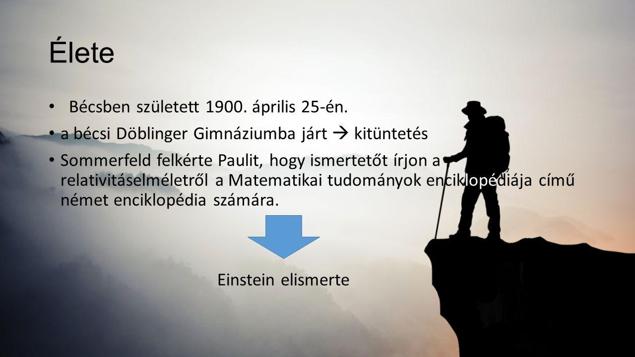 Élete Bécsben született 1900. április 25-én.