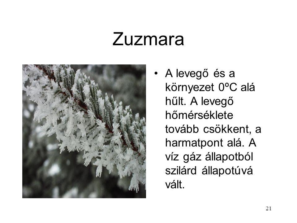 """20 Halmazok átalakulása — 3 Szilárd anyagokból Gázok: szublimáció. Olvadás nélkül """"eltűnik"""" a jég. Kámfor, mentol Folyadékok: olvadás. A víz szokatlan"""