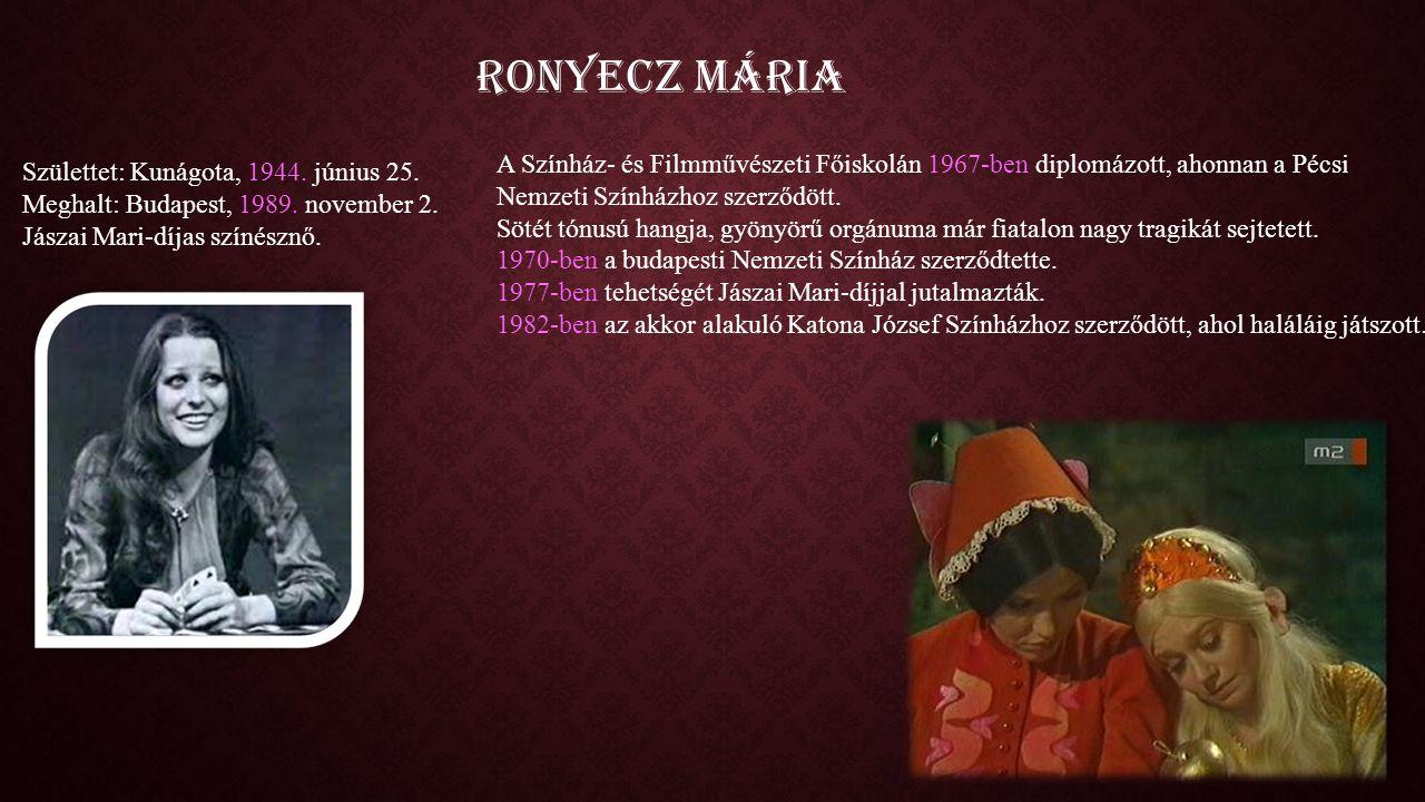 A Színház- és Filmművészeti Főiskolán 1967-ben diplomázott, ahonnan a Pécsi Nemzeti Színházhoz szerződött.