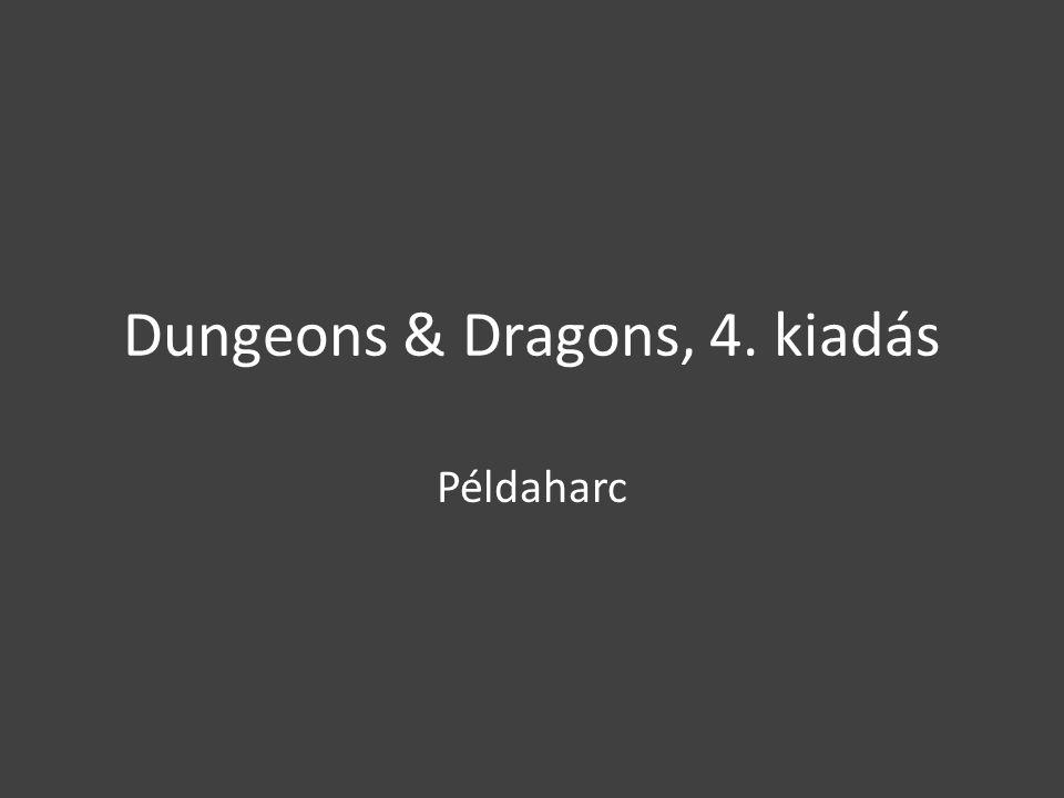 Dungeons & Dragons, 4. kiadás Példaharc