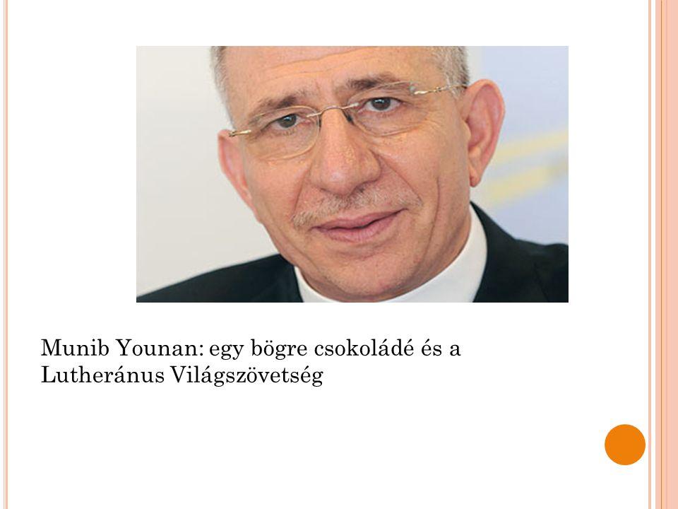 Munib Younan: egy bögre csokoládé és a Lutheránus Világszövetség