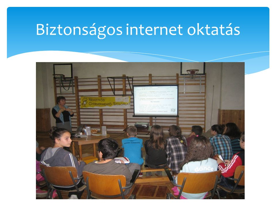 Biztonságos internet oktatás