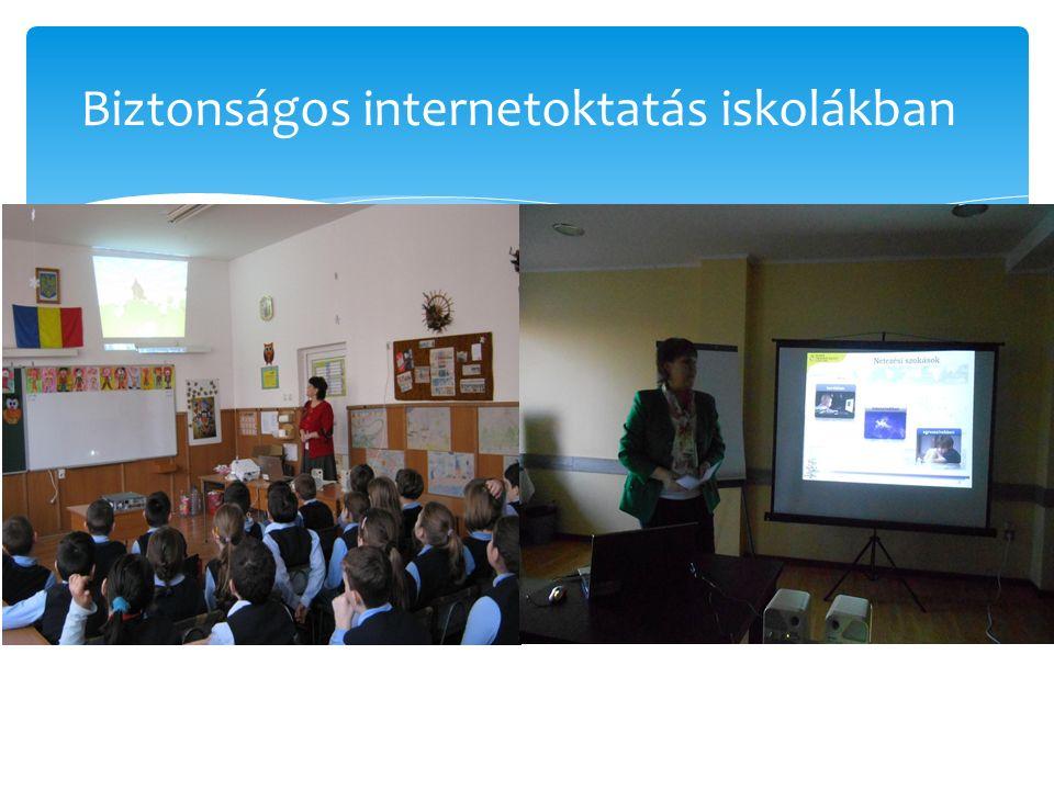 Biztonságos internetoktatás iskolákban