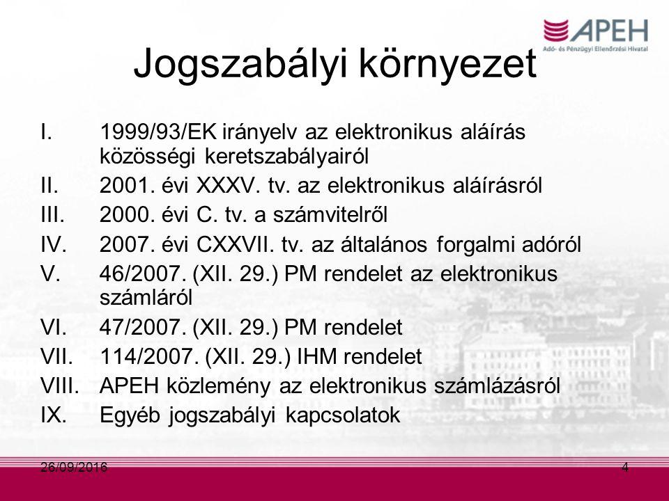 2007.évi CXXVII. törvény az általános forgalmi adóról Okiratok megőrzése (179.