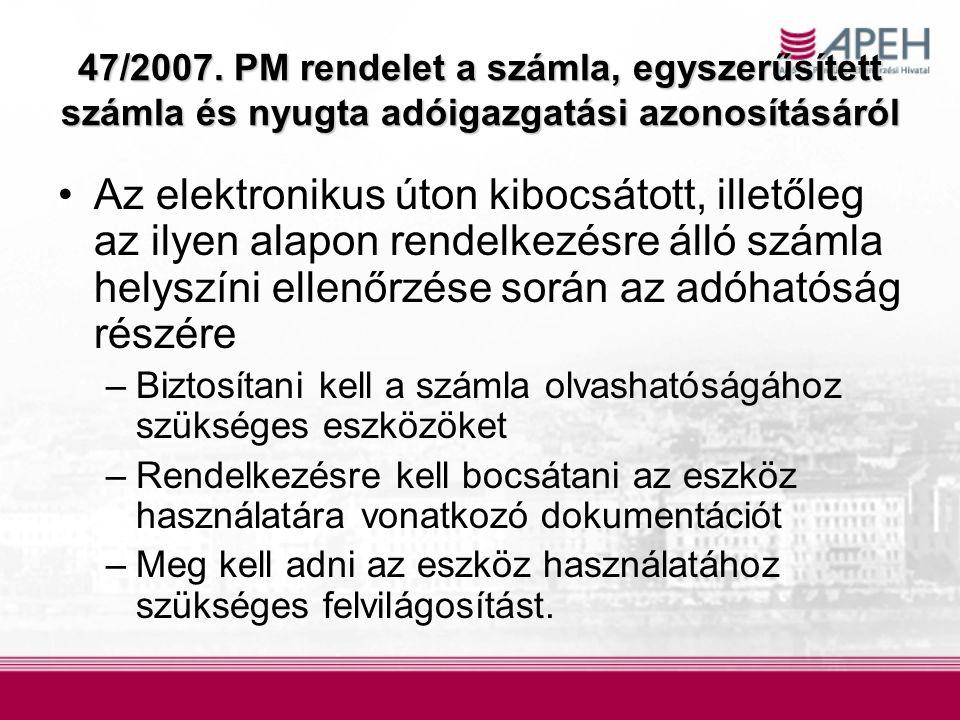 47/2007.