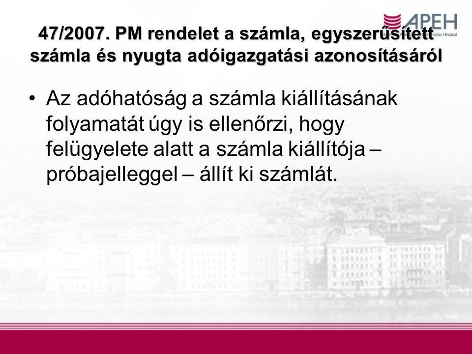 114/2007.(XII.
