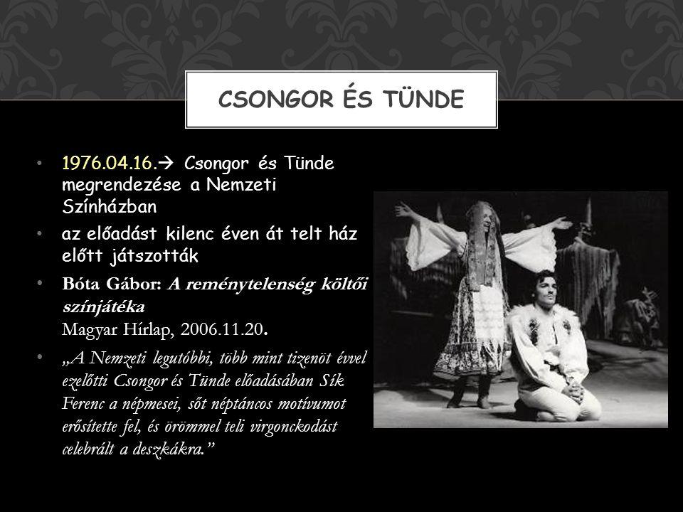 1963.  diploma a Színház-és Filmművészeti főiskolán 1965.  pécsi Nemzeti Színház rendezője 1973.  Gyulai Várszínház vezetője 1982.  Nemzeti Színhá