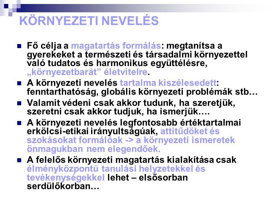 Környezetvédelmi nevelés kézikönyve (Orsz.Ped. Int.