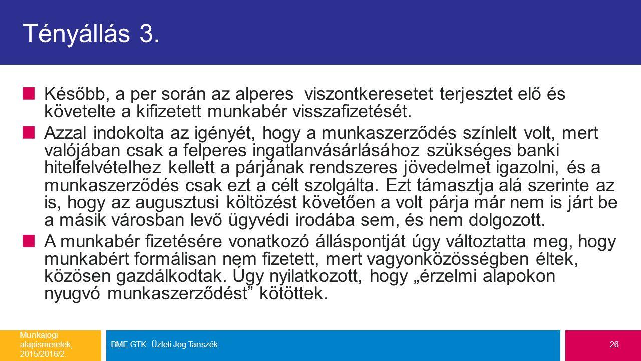 Tényállás 3.