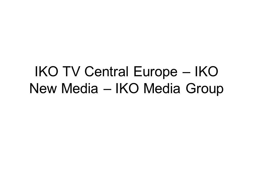 IKO TV Central Europe – IKO New Media – IKO Media Group